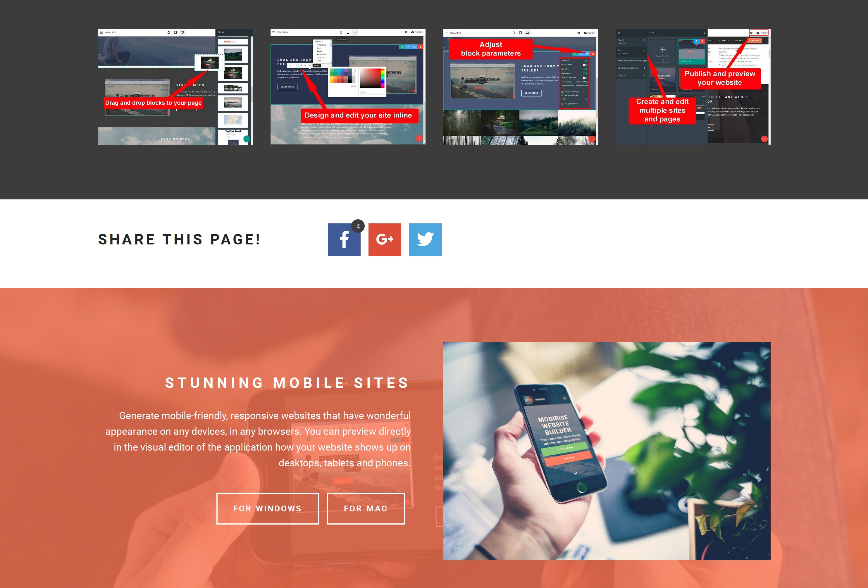 Responsive Easy Website Creator Review