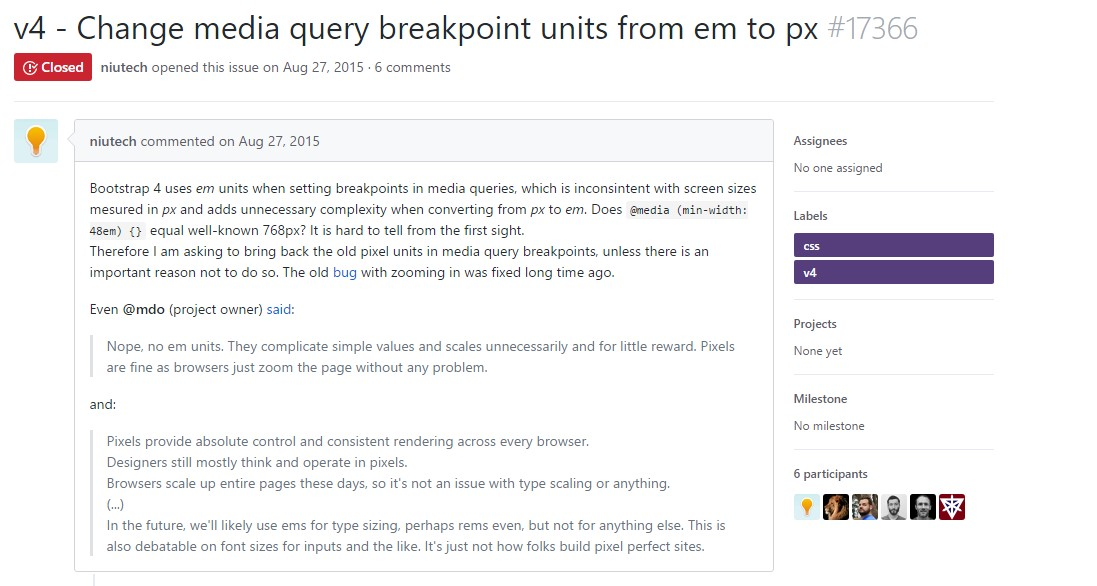 Transform media query breakpoint units from <code></div>em</code> to <code>px</code>