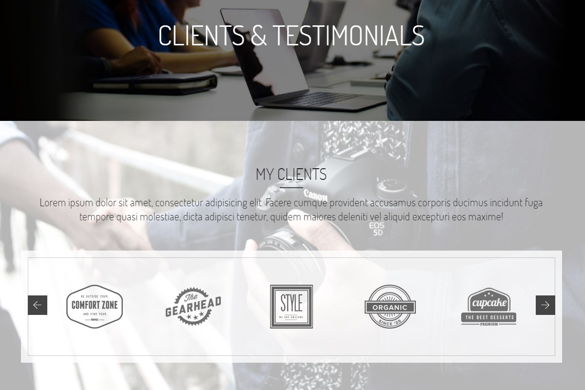 Mobile-friendly Testimonials