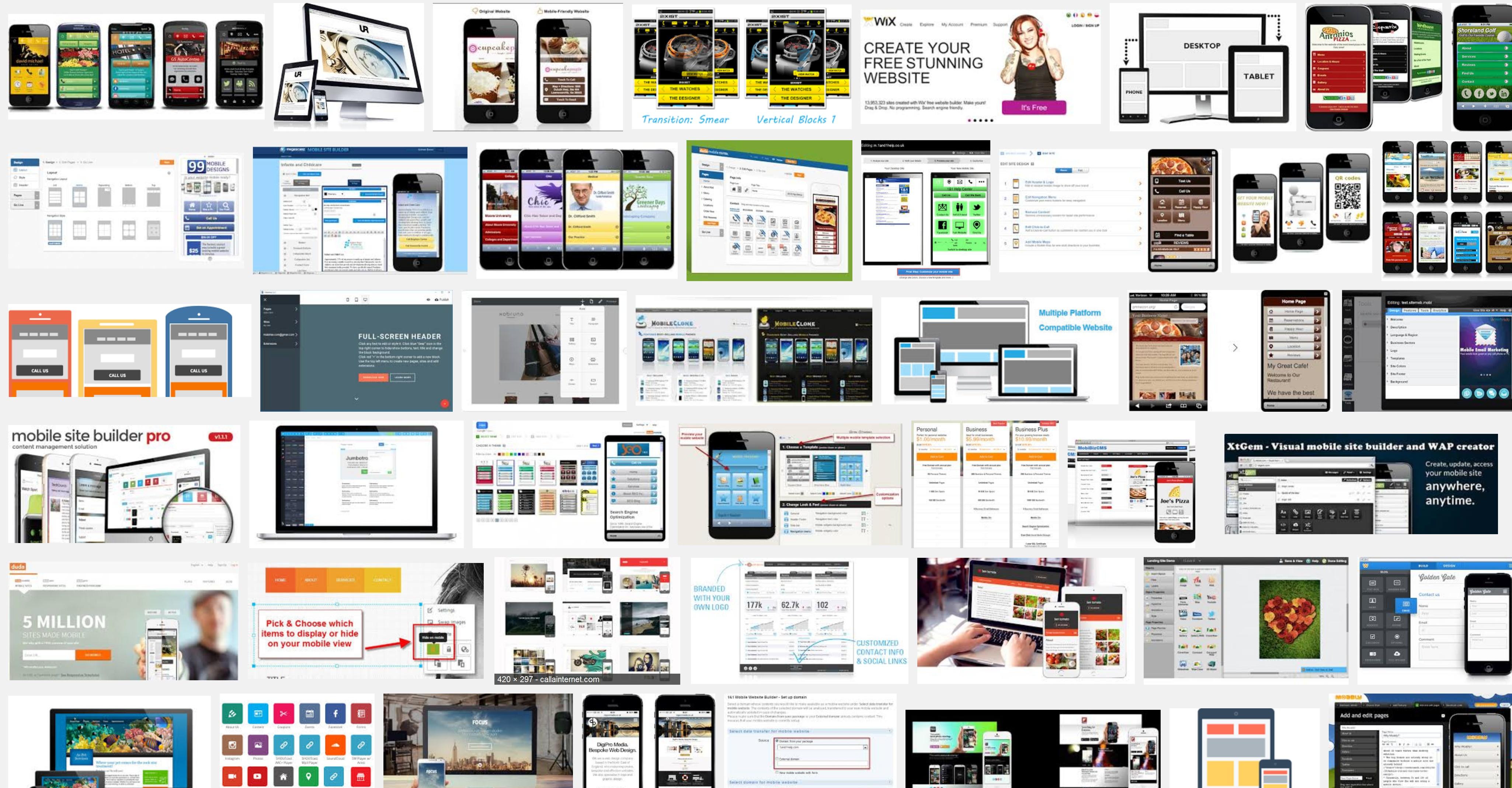 Offline Mobile Website Maker