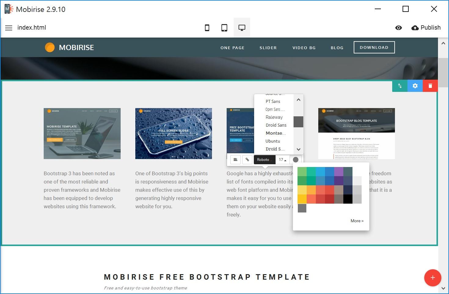 Easy Mobile Website Maker