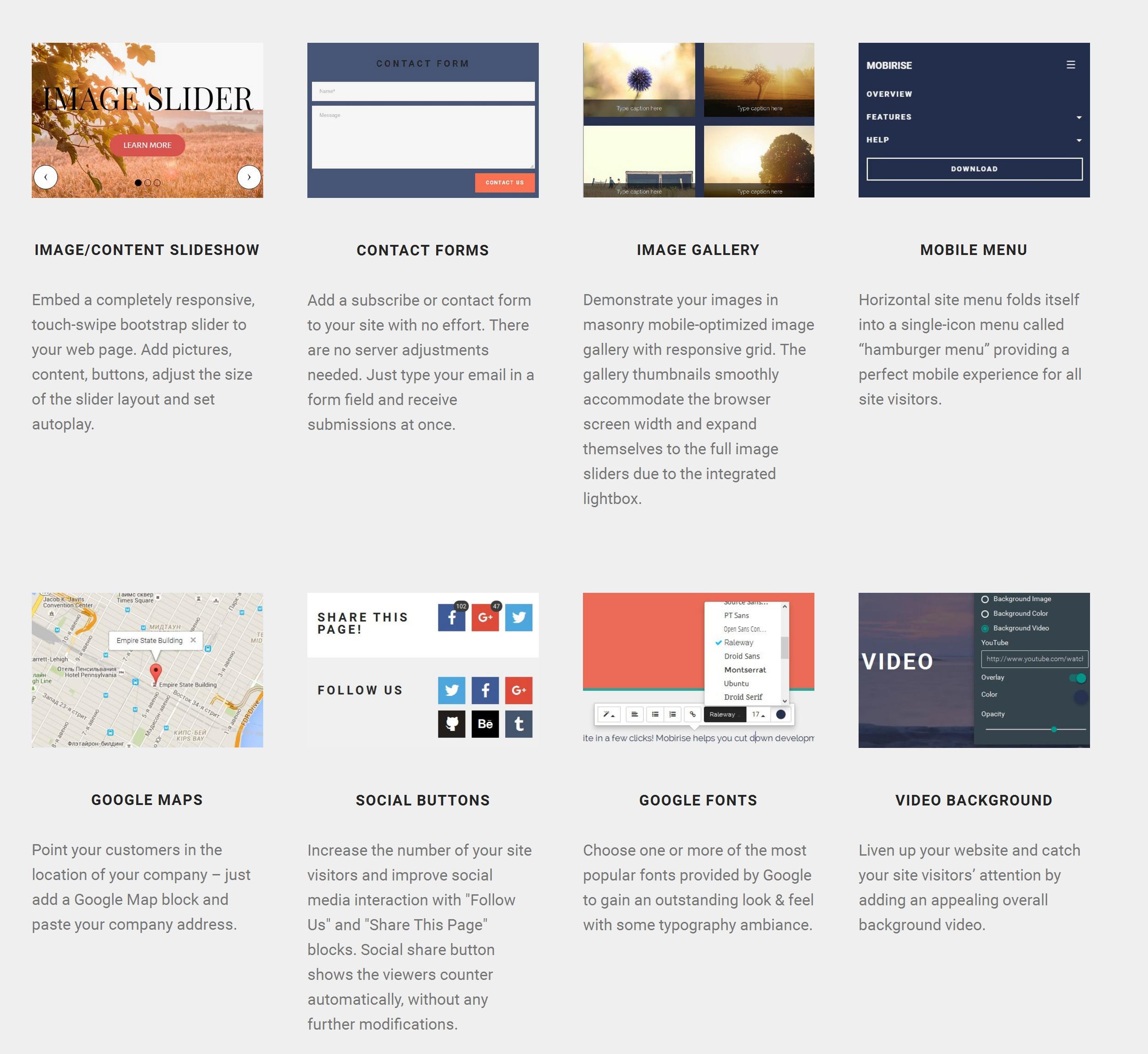 Very Simple Website Builder