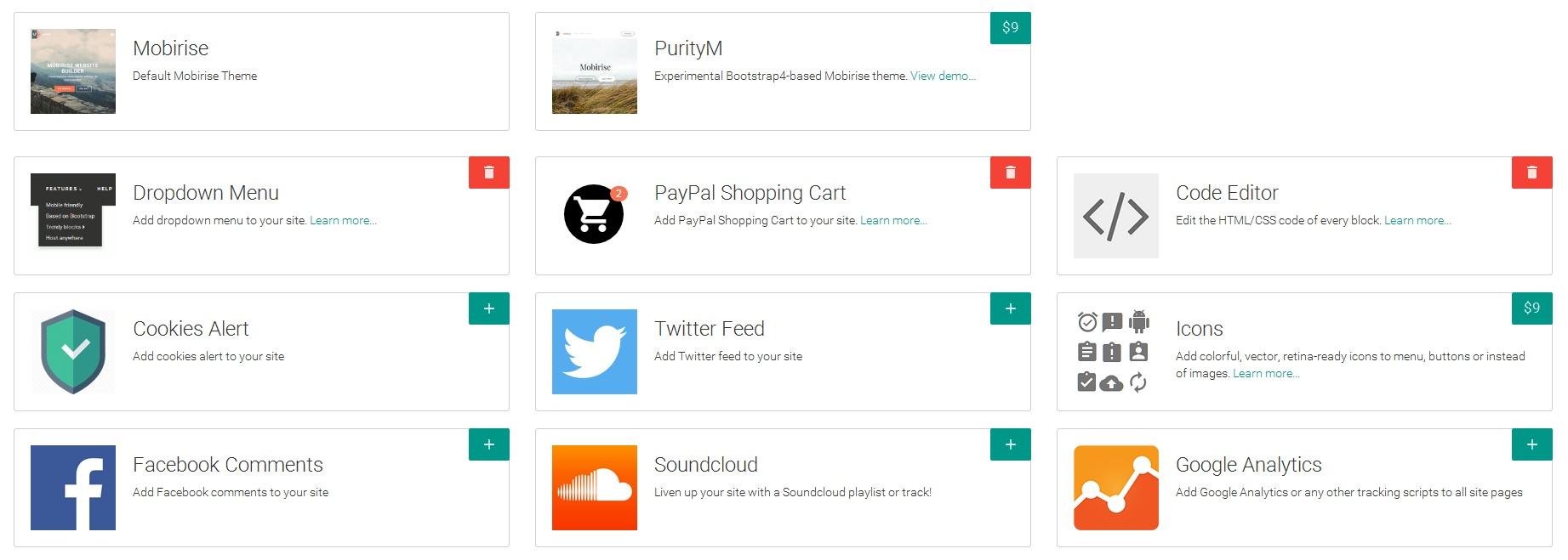 Offline Easy Website Builder Tool