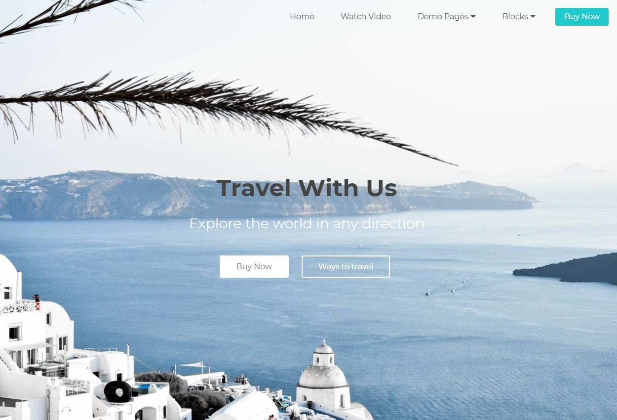 Bootstrap Travel Agency