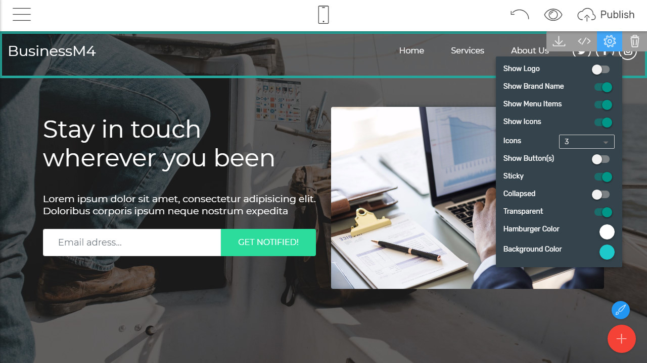 html5 page templates
