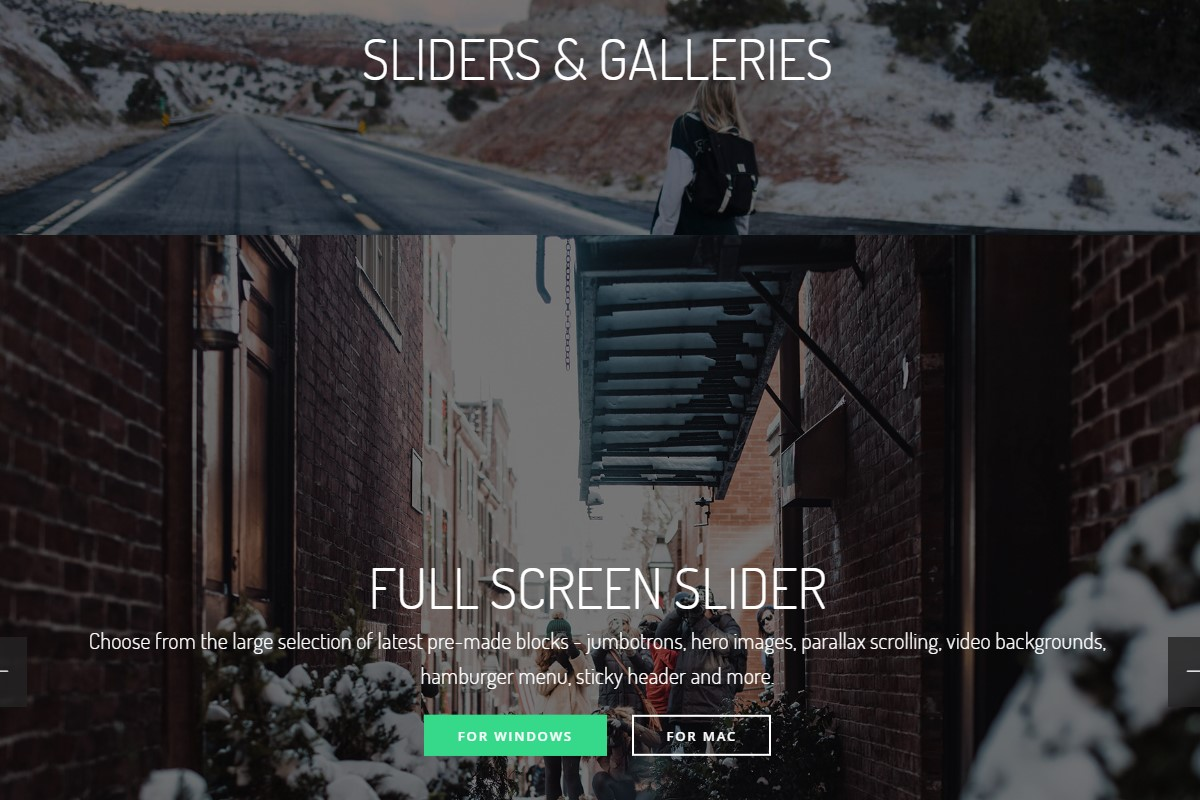 Smart Sliders and Galleries