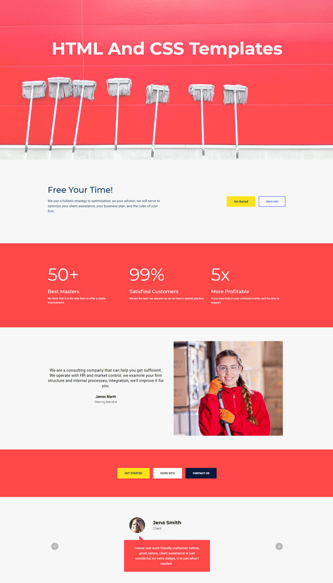 Shopping Web Template