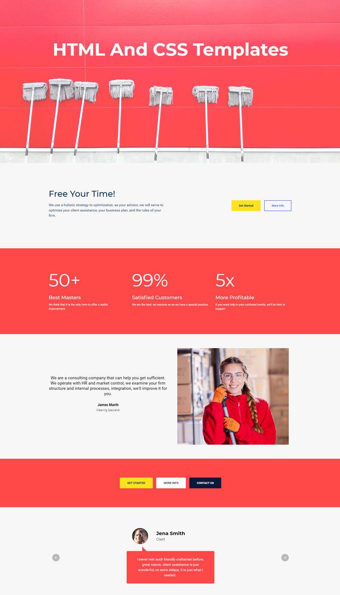 Shopping Web Template