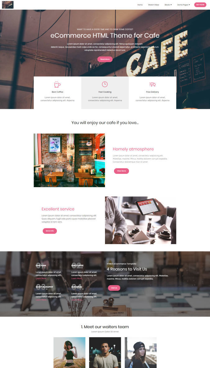 30 Top Cool Shopping Website Template Examples
