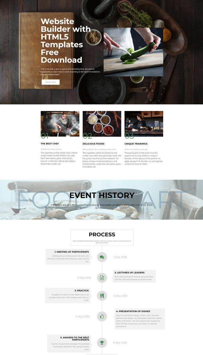 Event Website Templates