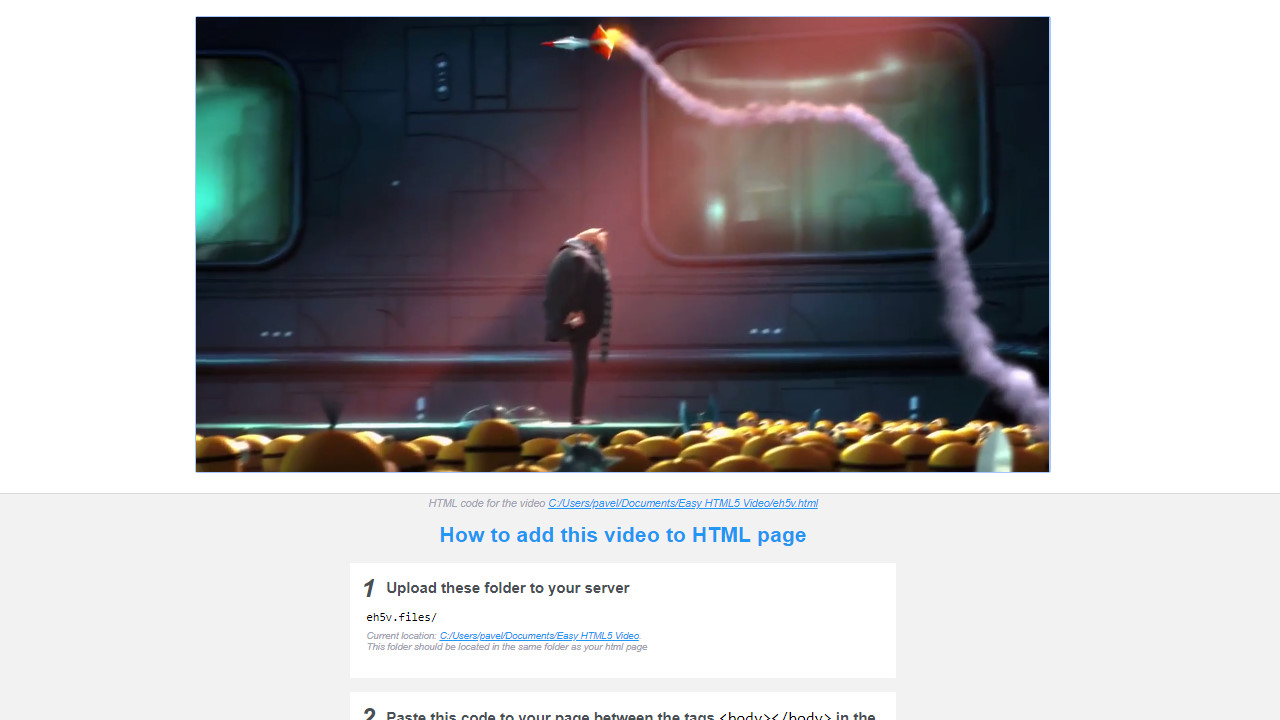 video fullscreen html5