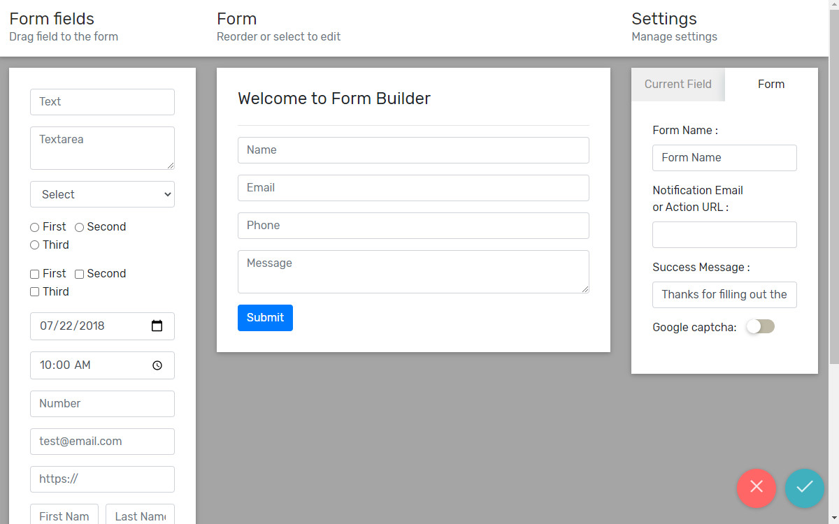 bootstrap form builder